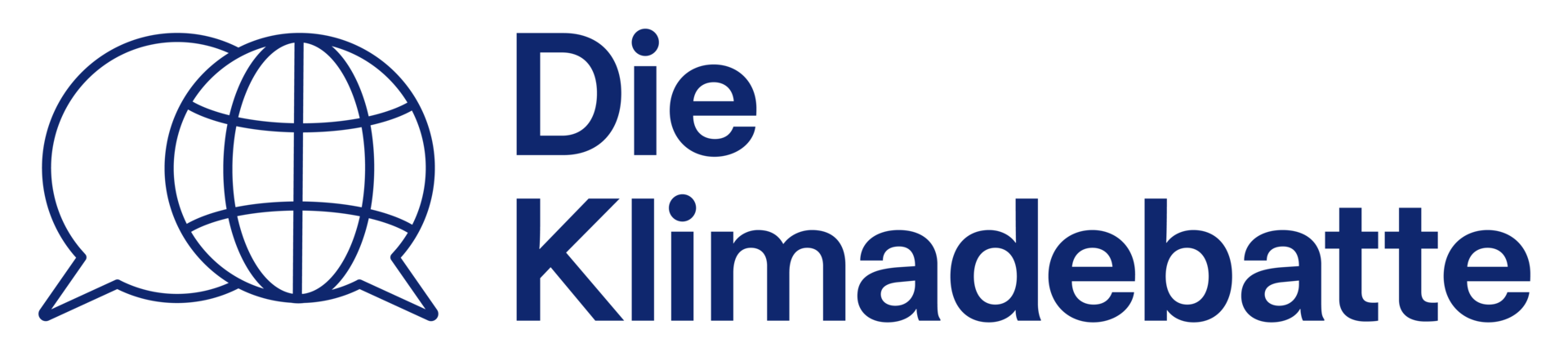 Logo von Die Klimadebatte