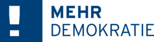 Logo Mehr Demokratie e.V.